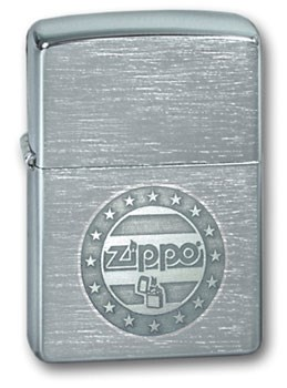 Широкая зажигалка Zippo Stars&Stripes 200 - фото 5149
