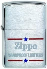 Широкая зажигалка Zippo Windproof 200 - фото 5155