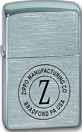 Широкая зажигалка Zippo Z in Circle 200 - фото 5165