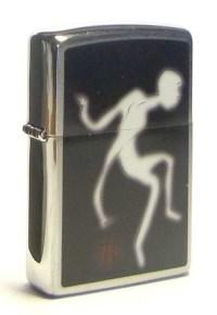 Широкая зажигалка Zippo Zippo Ghost 200 - фото 5173