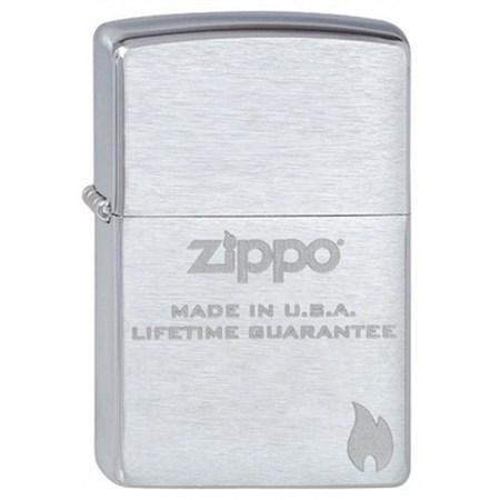 Широкая зажигалка Zippo made in USA 200 - фото 5177