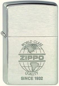 Широкая зажигалка Zippo Zippo World 200 - фото 5185