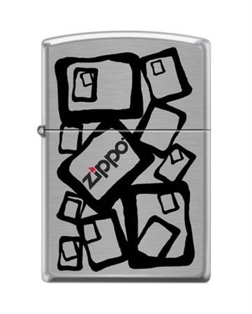 Широкая зажигалка Zippo ZIPPO2 200 - фото 5191