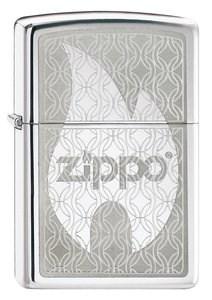 Широкая зажигалка Zippo Hidden 205 - фото 5251