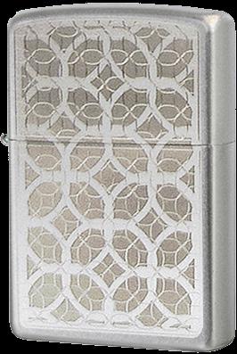 Широкая зажигалка Zippo Luxury 205 - фото 5273