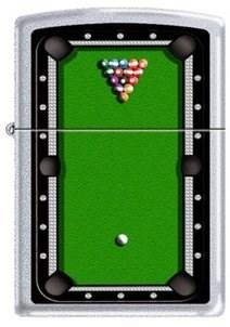 Широкая зажигалка Zippo Pool table 205 - фото 5284