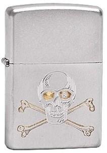 Зажигалка Zippo Skull crossbones 205 - фото 5296