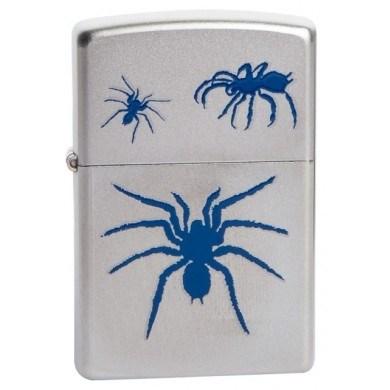 Широкая зажигалка Zippo Spider 205 - фото 5300