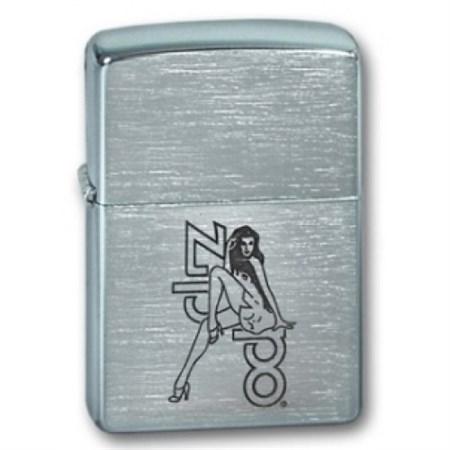 Широкая зажигалка Zippo Woman&Zippo 205 - фото 5316