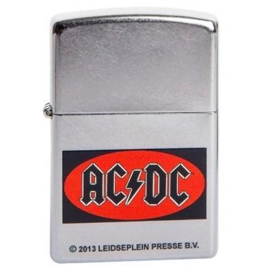 Широкая зажигалка Zippo ACDC 210 - фото 5330