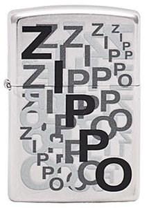 Широкая зажигалка Zippo Zippo Puzzle 241 - фото 5388