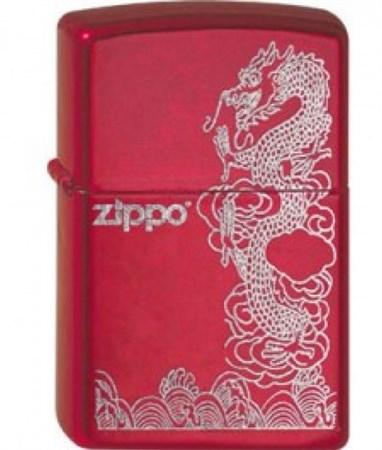 Широкая зажигалка Zippo Dragon 21063 - фото 5394
