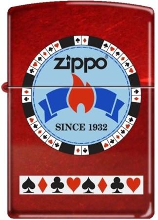 Широкая зажигалка Zippo Classic 21200 - фото 5412