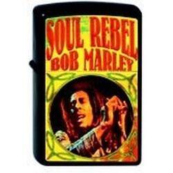 Широкая зажигалка Zippo Bob Marley 218 - фото 5466