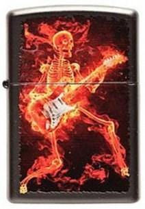 Широкая зажигалка Zippo Guitarist 218 - фото 5482