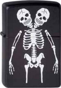 Зажигалка Zippo Skeletons 218 - фото 5504