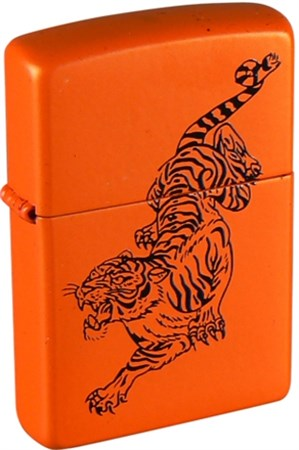 Зажигалка Zippo Tiger 231 - фото 5524
