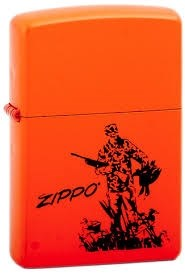 Широкая зажигалка Zippo Zippo duck 231 - фото 5526