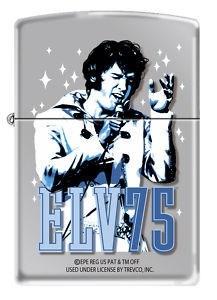 Широкая зажигалка Zippo Elvis 24867 - фото 5650