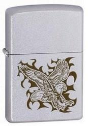 Широкая зажигалка Zippo Eagle 24910 - фото 5664
