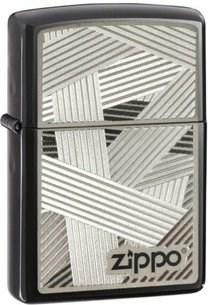 Широкая зажигалка Zippo Classic 24943 - фото 5686