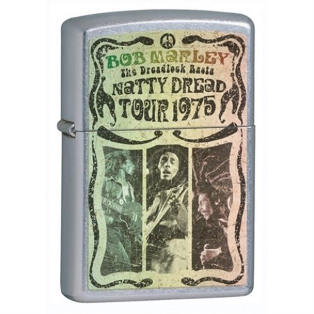Зажигалка Zippo Bob Marley 24990 - фото 5690