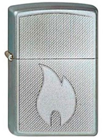 Широкая зажигалка Zippo Flame Design 267 - фото 5726
