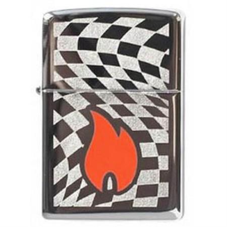 Зажигалка Zippo Flame Racing 268 - фото 5728