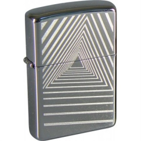 Широкая зажигалка Zippo Geometric 272 - фото 5736