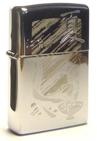 Широкая зажигалка Zippo Oriental design-2 287 - фото 5764