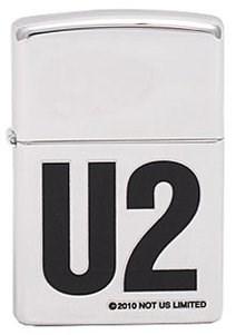 Широкая зажигалка Zippo U2 302 - фото 5794