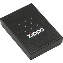 Широкая зажигалка Zippo Z pin stripe 308 - фото 5805