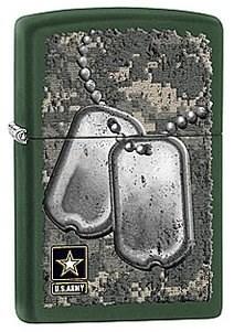 Зажигалка Zippo US Army 28513 - фото 5942