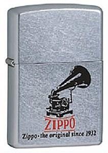 Широкая зажигалка Zippo Phonograph 28566 - фото 5958