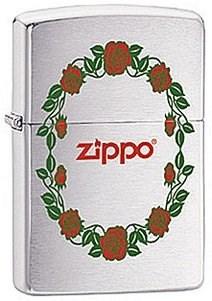 Зажигалка Zippo Rose 28568 - фото 5960