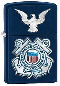 Зажигалка Zippo USCG 28681 - фото 5988