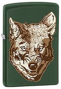 Широкая зажигалка Zippo Wolf 28717 - фото 6000