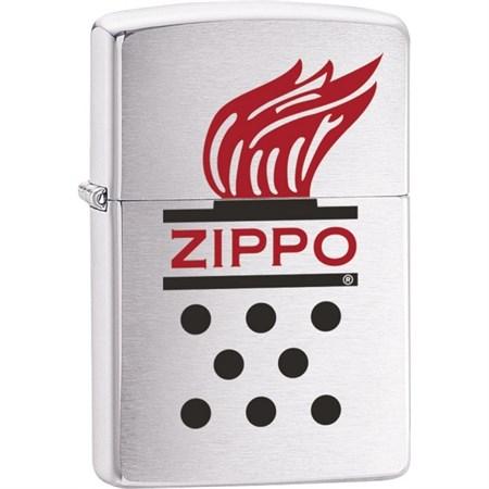 Широкая зажигалка Zippo Chimney flame 28783 - фото 6038