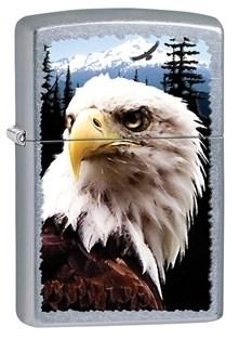 Широкая зажигалка Zippo Eagle 28462 - фото 6072
