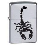 Широкая зажигалка Zippo Scorpion 205 - фото 6106