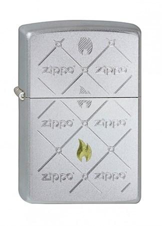 Широкая зажигалка Zippo Zippos 205 - фото 6119