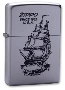 Зажигалка Zippo Boat-Zippo 205 - фото 6165
