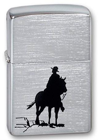 Зажигалка Zippo 200 Bronco Cowboy - фото 6166