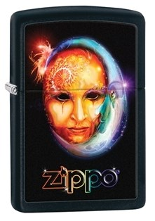 Широкая зажигалка Zippo Classic 28669 - фото 6195