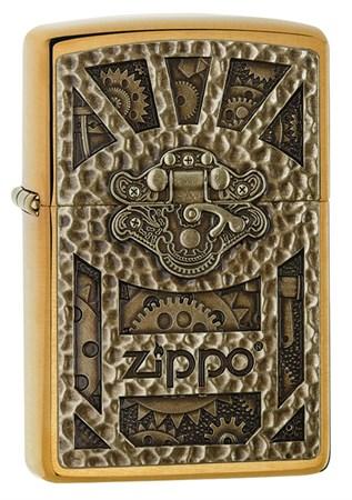 Широкая зажигалка Zippo Classic 29103 - фото 6225