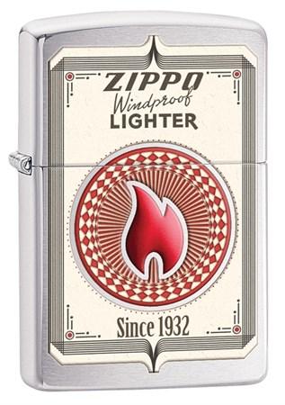Широкая зажигалка Zippo Classic 28831 - фото 6239