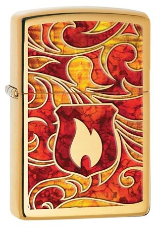 Широкая зажигалка Zippo Classic 28975 - фото 6274