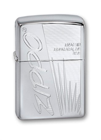 Широкая зажигалка Zippo Zippo Made In US 250 - фото 6289