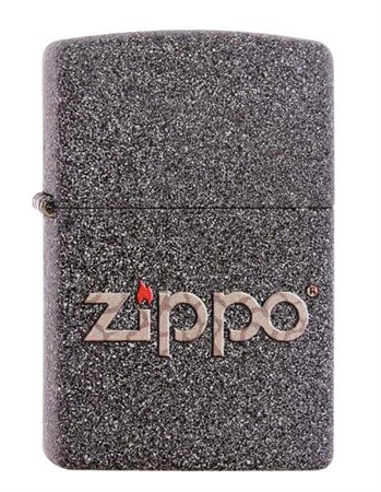 Широкая зажигалка Zippo SNAKESKIN ZIPPO LOGO 211 - фото 6315