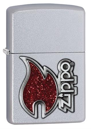 Широкая зажигалка Zippo Classic 28847 - фото 6330